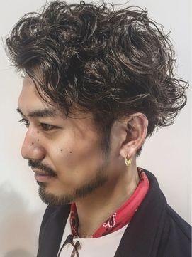"""男の""""ツーブロック×パーマヘア""""魅力が詰まった髪型20選を大公開"""