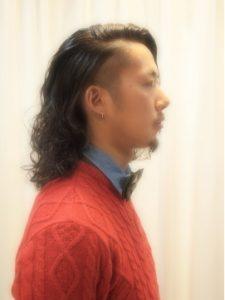 ロングパーマヘア