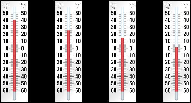 ヘアアイロンの温度